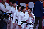 Lien Chen ling (TPE), <br /> SEPTEMBER 1, 2018 - Judo : Mix Team at Jakarta Convention Center Plenary Hall during the 2018 Jakarta Palembang Asian Games in Jakarta, Indonesia. <br /> (Photo by MATSUO.K/AFLO SPORT)