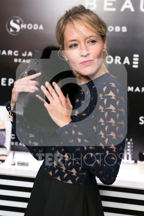 Marta Larralde attends the SMODA Magazine and SEPHORA new Marc Jacobs Make up collection presentation at Sephora Shop in Madrid, Spain. October 6, 2014. (ALTERPHOTOS/Carlos Dafonte)