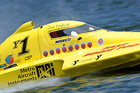 "Dan Kanfoush, Y-1 ""Fast Eddie Too""  (1 Litre MOD hydroplane(s)"