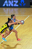 Action from the ANZ Premiership netball match between the Central Pulse and Northern Stars at Te Rauparaha Arena in Wellington, New Zealand on Wednesday, 24 May 2017. Photo: Dave Lintott / lintottphoto.co.nz