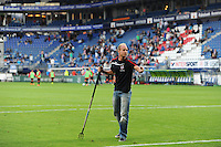 VOETBAL: HEERENVEEN: Abe Lenstra Stadion 01-08-2015, SC Heerenveen - Real Mallorca, uitslag 0-1, Groundsman Henk Schreuder, ©foto Martin de Jong