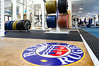 A general view of the Bath Rugby gym. Bath Rugby pre-season training on July 2, 2018 at Farleigh House in Bath, England. Photo by: Patrick Khachfe / Onside Images