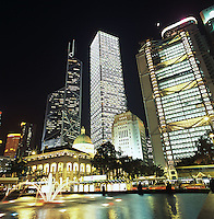 The Cheung Kong Center, is owned by the Cheung Kong Group, one of the Li Ka Shing's properties in Hong Kong.
