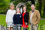 Pictured at the Presentation Secondary school, Tralee, graduation on Friday were  l-r Noreen O'Grady, (teacher) Katie Murphy,Mary Murphy and Tim Murphy