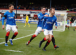 09.12.2018 Dundee v Rangers: Andy Halliday celebrates his goal