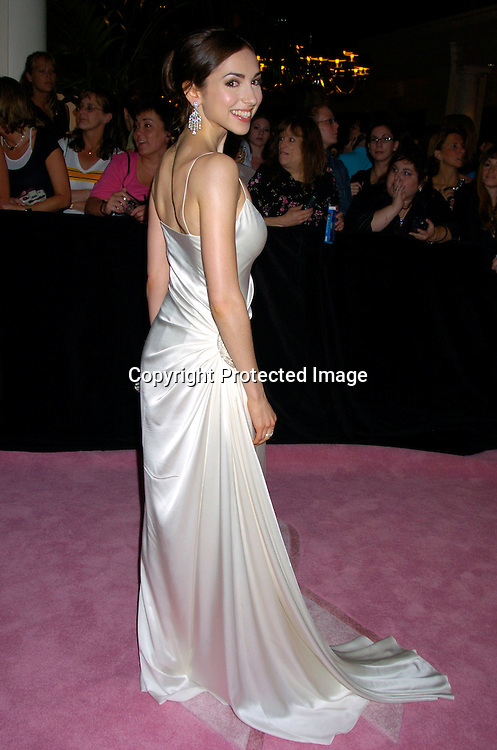 Eden Riegel ..arriving at the Daytime Emmy Awards on May 21, 2004 at the Sheraton and at Radio City Music Hall...Photo by Robin Platzer, Twin Images