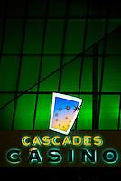 Cascades Casino Coast Hotel & Convention Centre Show Lounge Sign, Langley City