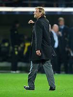 FUSSBALL   CHAMPIONS LEAGUE   SAISON 2011/2012  Borussia Dortmund - Olympiakos Piraeus      01.11.2011 Trainer Juergen KLOPP (Dortmund) freut sich nach dem Abpfiff
