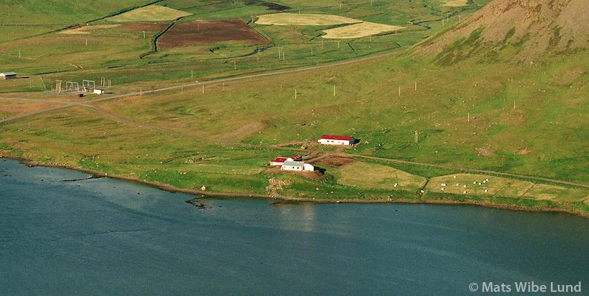 Ytri- Veðrará, Mosvallahreppur, Önundarfjörður..Ytr-Vedrara, Mosvallahreppur, Onundarfjordur.