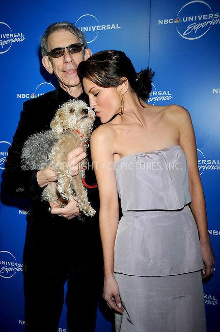 WWW.ACEPIXS.COM . . . . .....May 12, 2008. New York City.....Actors Richard Belzer and Alana de la Garza attend the NBC Universal Experience at Rockefeller Center.  ....Please byline: Kristin Callahan - ACEPIXS.COM..... *** ***..Ace Pictures, Inc:  ..Philip Vaughan (646) 769 0430..e-mail: info@acepixs.com..web: http://www.acepixs.com