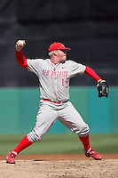 March 7 2010: Willy Kesler of University of New Mexico during game against USC at Dedeaux Field in Los Angeles,CA.  Photo by Larry Goren/Four Seam Images