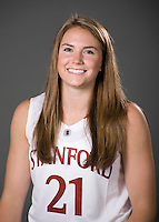 Sara James of the Stanford basketball team.