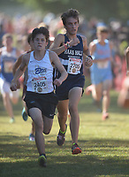 NWA Democrat-Gazette/ANDY SHUPE<br /> Saturday, Sept. 30, 2017, during the 29th annual Chile Pepper Cross Country Festival at Ari Park in Fayetteville. Visit nwadg.com/photos to see more photographs from the meet.