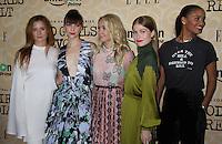 NEW YORK, NY-October 18:Grace Gummer,Erin Darke, Anna Camp,Genevieve Angelson, Joy Bryant  at Amazon Originasl Series Good Girls Revolt screening  at the Joseph Urban Theater at Hearst Tower in New York.October 18, 2016. Credit:RW/MediaPunch