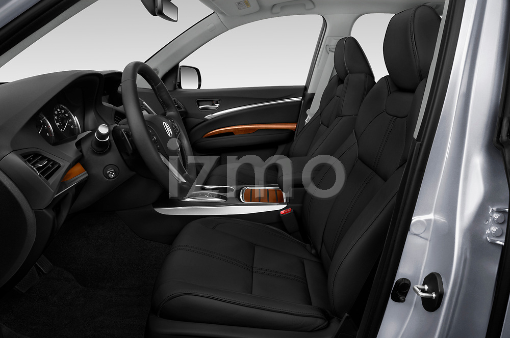 Front seat view of a 2018 Acura MDX Sport Hybrid Advance Package 5 Door SUV front seat car photos
