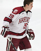Jimmy Vesey (Harvard - 19) - The visiting Yale University Bulldogs defeated the Harvard University Crimson 2-1 (EN) on Saturday, November 15, 2014, at Bright-Landry Hockey Center in Cambridge, Massachusetts.