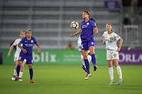Orlando, FL - Saturday March 24, 2018: Orlando Pride defender Carson Pickett (16) during a regular season National Women's Soccer League (NWSL) match between the Orlando Pride and the Utah Royals FC at Orlando City Stadium. The game ended in a 1-1 draw.