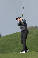 25th January 2020, Torrey Pines, La Jolla, San Diego, CA USA;  Patrick Rodger hits an iron on the fairway during round 3 of the Farmers Insurance Open at Torrey Pines Golf Club on January 25, 2020