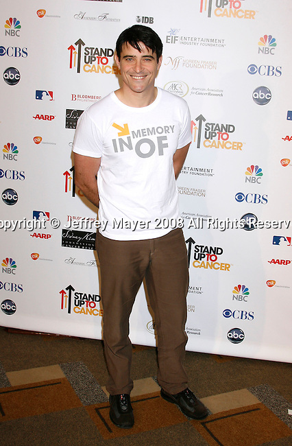HOLLYWOOD, CA. - September 05: Actor Goran Visnjic arrives at Stand Up For Cancer at The Kodak Theatre on September 5, 2008 in Hollywood, California.