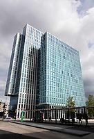 Nederland Almere 2019. Martinez toren. Plaza Hotel en Best Western Hotel.  Foto Berlinda van Dam / Hollandse Hoogte