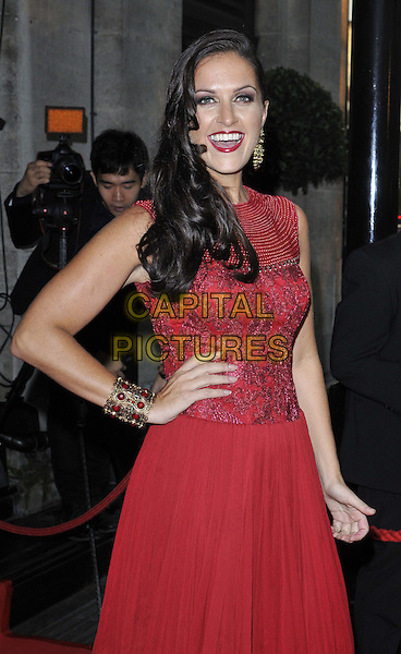 LONDON, ENGLAND - SEPTEMBER 19: DJ Lora attends the Asian Achievers Awards 2014, Grosvenor House Hotel, Park Lane, on Friday September 19, 2014 in London, England, UK. <br /> CAP/CAN<br /> &copy;Can Nguyen/Capital Pictures