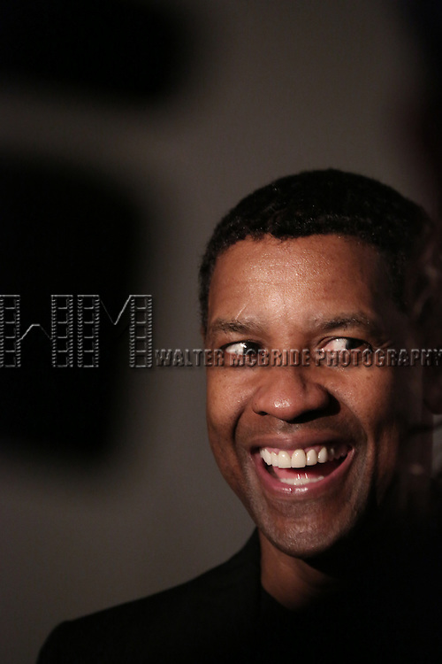 """Denzel Washington attends the Broadway Opening Night After Party for  """"A Raisin In The Sun"""" at Tribeca Rooftop on April 3, 2014 in New York City."""