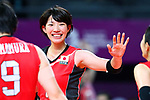 Yuki Ishii (JPN), <br /> SEPTEMBER 1, 2018 - Volleyball : <br /> Women's Bronze Medal match<br /> between Japan 1-2 Korea <br /> at Gelora Bung Karno Indoor Tennis Stadium <br /> during the 2018 Jakarta Palembang Asian Games <br /> in Jakarta, Indonesia. <br /> (Photo by Naoki Nishimura/AFLO SPORT)
