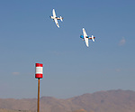 A photograph taken during the National Championship Air Races in Reno, Nevada on Friday, September 15, 2017.