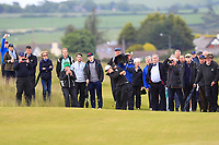 Emily Toy (ENG) on the 18th fairway during the Matchplay Final of the Women's Amateur Championship at Royal County Down Golf Club in Newcastle Co. Down on Saturday 15th June 2019.<br /> Picture:  Thos Caffrey / www.golffile.ie