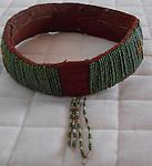 Antique bead Iban Head dress