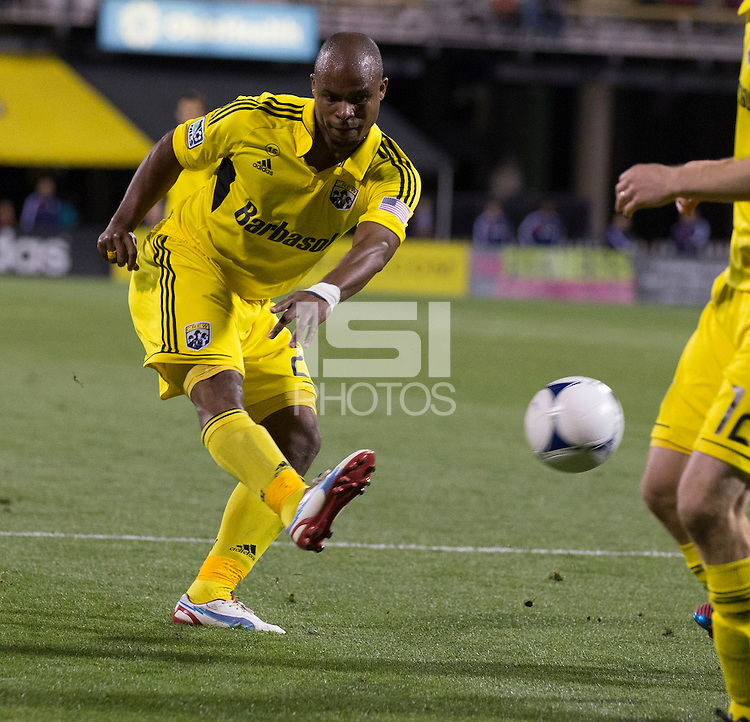 September 19, 2012: Columbus, OH: The Columbus Crew host Chivas USA at Columbus Crew Stadium.