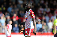 Emmanuel Sonupe of Stevenage during Stevenage vs Exeter City, Sky Bet EFL League 2 Football at the Lamex Stadium on 10th August 2019