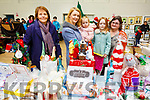 Attending the Ardfert Christmas fair in the Community Centre on Sunday.<br /> L-r, Kathleen O&rsquo;Loughlin, Clare, Ciara and Hazel Behan and Mary Shanahan (Abbeydorney).