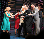 "Kristin Chenoweth, Neil Simon, Sean Hayes, Hal David.taking a bow on the  Opening Night Broadway performance Curtain Call for ""PROMISES, PROMISES"" at the Broadway Theatre, New York City..April 25, 2010."