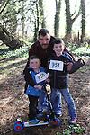 Andrew, Daniel and James Matthews at Erin's Run, An Grianan, Termonfeckin.<br /> <br /> Photo: Jenny Matthews