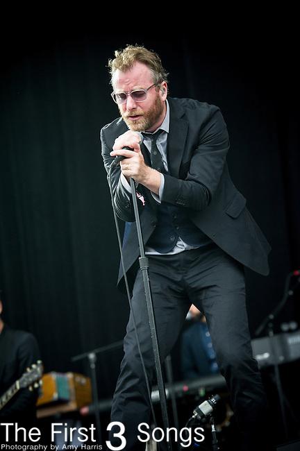 Matt Berninger of The National performs at the Outside Lands Music & Art Festival at Golden Gate Park in San Francisco, California on August 9, 2013.