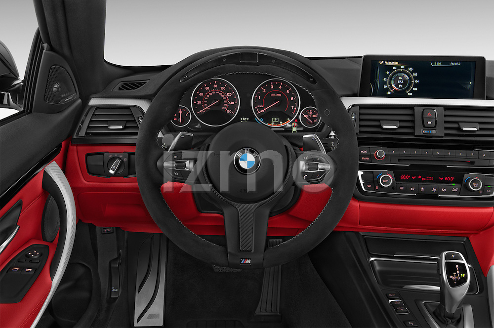 Car pictures of steering wheel view of a 2017 BMW 4-Series 440i 2 Door Coupe Steering Wheel