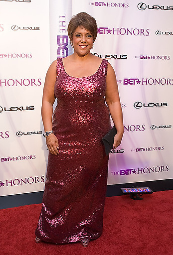 Slug: 2011 BET Honors.Date: 01-16-2011.Photographer: Mark Finkenstaedt.Location:  Wagner Theater, Washington DC.Caption:  2010 BET Honors - Wagner Theater Washington DC.Linda Johnson-Rice.