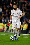 Karim Benzema of Real Madrid during La Liga match between Real Madrid and RC Celta de Vigo at Santiago Bernabeu Stadium in Madrid, Spain. February 16, 2020. (ALTERPHOTOS/A. Perez Meca)