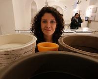 NAPOLI 21/03/2013 MUSEO PLART CERIMONIA DI PREMIAZIONE DELLA .VIII EDIZIONE DEL LUCKY STRIKE TALENTED DESIGNER AWARD ORGANIZZATO DALLA RAYMOND LOEWY  FOUNDATION.NELLA FOTO Serena Camere.