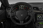 Car pictures of steering wheel view of a 2018 Maserati GranTurismo Automatic 2 Door Coupe