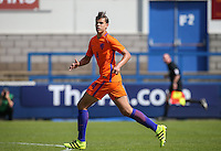 Justin Hoogma (Heracles Almelo) of Holland during the International match between England U19 and Netherlands U19 at New Bucks Head, Telford, England on 1 September 2016. Photo by Andy Rowland.