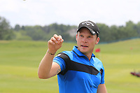 Danny Willett (ENG) on the range during Wednesday's Practice Day of the 117th U.S. Open Championship 2017 held at Erin Hills, Erin, Wisconsin, USA. 14th June 2017.<br /> Picture: Eoin Clarke | Golffile<br /> <br /> <br /> All photos usage must carry mandatory copyright credit (&copy; Golffile | Eoin Clarke)