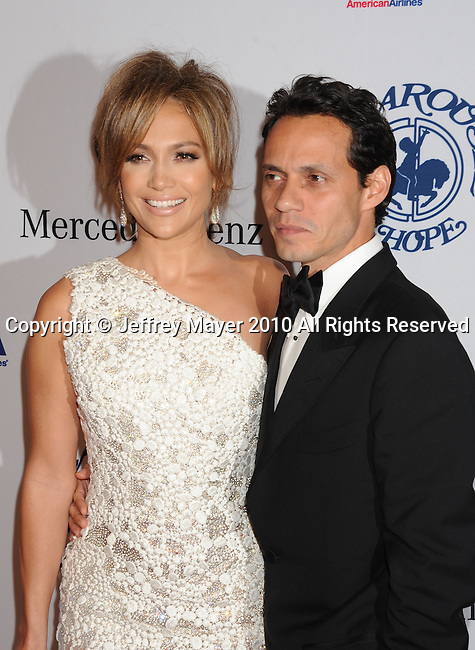 BEVERLY HILLS, CA. - October 23: Jennifer Lopez and Marc Anthony attend The 32nd Annual Carousel Of Hope Ball at The Beverly Hilton Hotel on October 23, 2010 in Beverly Hills, California.