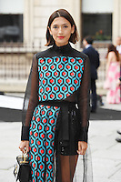 Hikari Yokoyama arrives for the VIP preview of the Royal Academy of Arts Summer Exhibition 2016