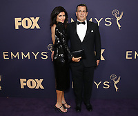 LOS ANGELES - SEPTEMBER 22: Ziah Lane (L) and Co-Founder and CEO at Bento Box Entertainment Scott Greenberg attend the 71st Primetime Emmy Awards at the Microsoft Theatre on September 22, 2019 in Los Angeles, California. (Photo by Brian To/Fox/PictureGroup)