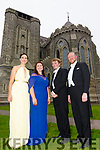 Performing in the O'Connell Memorial Church in Cahersiveen on Sunday were l-r; Amy Ní Fhearraigh(soprano), Tara Erraught(mezzo-soprano), Killian Farrell(conductor) & Gavan Ring(Conductor).