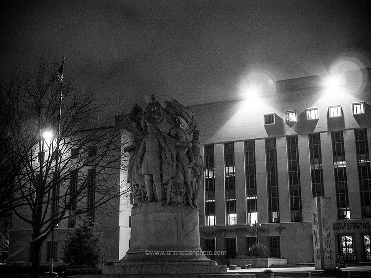 The E. Barrett Prettyman Federal Courthouse is a historic building in Washington, D.C. It was built in 1949–50 and currently houses the United States District Court for the District of Columbia