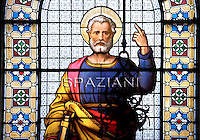 Mosaic Glass St Peter Apostolic Palace 2011..