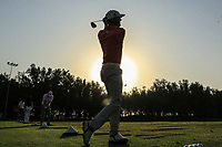 Michael Hoey (NIR) during round 2, Ras Al Khaimah Challenge Tour Grand Final played at Al Hamra Golf Club, Ras Al Khaimah, UAE. 01/11/2018<br /> Picture: Golffile | Phil Inglis<br /> <br /> All photo usage must carry mandatory copyright credit (&copy; Golffile | Phil Inglis)